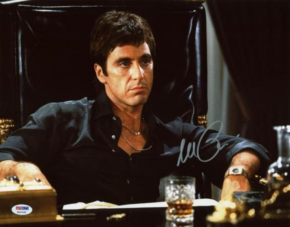Al Pacino Scarface Signed 11X14 Photo Autographed PSA/DNA ITP #6A31068