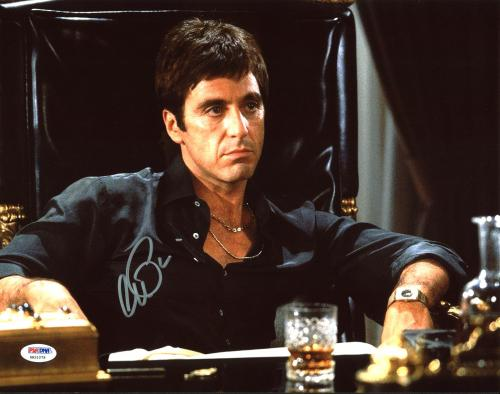 Al Pacino Scarface Signed 11x14 Photo Autographed PSA/DNA Itp #6A31079