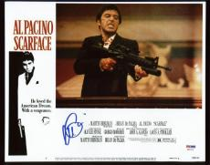 Al Pacino Scarface Signed 11X14 Photo Autographed PSA/DNA ITP #6A31118