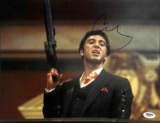 Al Pacino Scarface Signed 11X14 Photo Autographed PSA/DNA #L68902
