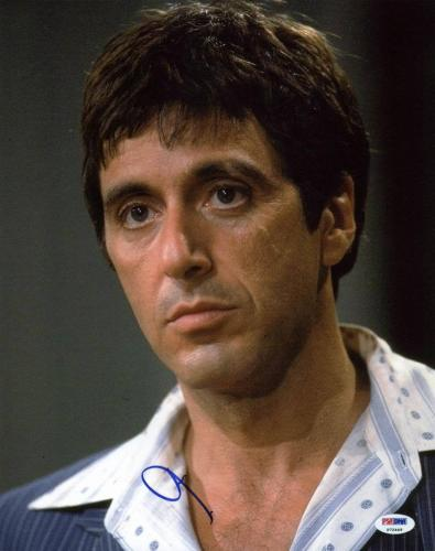 Al Pacino Scarface Signed 11X14 Photo Autographed PSA/DNA #P72449