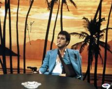 Al Pacino Scarface Signed 11X14 Photo Autographed PSA/DNA #V29213