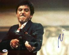 Al Pacino Scarface Signed 11X14 Photo Autographed PSA/DNA #Y49052