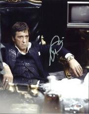 Al Pacino Scarface Signed 11X14 Photo Graded Perfect 10! PSA/DNA ITP #5A00856
