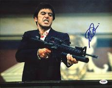 Al Pacino Scarface Signed 11X14 Photo Graded Perfect 10! PSA/DNA ITP #5A78931