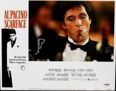 Al Pacino Scarface Signed 11X14 Photo Lobby Card PSA/DNA #I11872