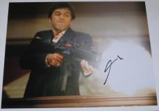 Al Pacino Scarface Signed 11x14 Photo Proof Coa Autograph Free Shipping