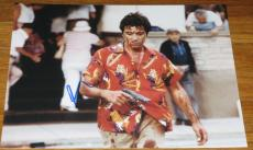 Al Pacino Scarface Signed 11x14 Photo Proof Coa Autograph Free Shipping H