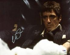 Al Pacino Scarface Signed 11X14 Photo Tony Montana PSA ITP #5A00215