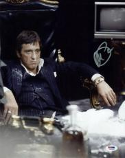 Al Pacino Scarface Signed 11X14 Photo Tony Montana PSA ITP #5A00863