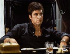 Al Pacino Scarface Signed 11X14 Photo Tony Montana PSA ITP #5A00919