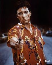 Al Pacino Scarface Signed 11X14 Photo Tony Montana PSA ITP #5A00922
