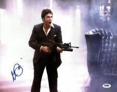 Al Pacino Scarface Signed 11X14 Photo Tony Montana PSA ITP #5A00931