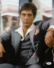 Al Pacino Scarface Signed 11X14 Photo World Is Yours PSA ITP #5A00280