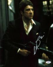 Al Pacino Scarface Signed 11X14 Photo World Is Yours PSA ITP #5A00282