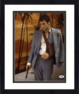 Al Pacino Scarface Signed 11X14 Photo World Is Yours PSA ITP #5A00514