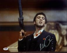 Al Pacino Scarface Signed 11X14 Photo World Is Yours PSA ITP #5A00901