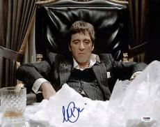 Al Pacino Scarface Signed 11X14 Photo World Is Yours PSA ITP #5A00934