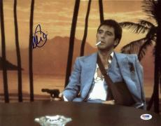 Al Pacino Scarface Signed 11X14 Photo World Is Yours PSA ITP #5A00949