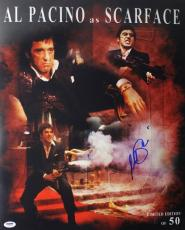 Al Pacino Scarface Signed 16X20 Ltd Ed Collage Photo PSA ITP #5A80144