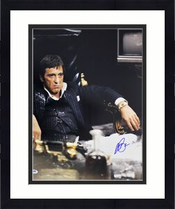 Al Pacino Scarface Signed 16x20 Photo Auto Graded Gem 10! PSA/DNA Itp #6A31234