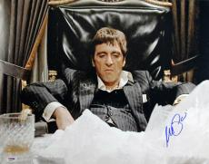 Al Pacino Scarface Signed 16X20 Photo Auto Graded Gem Mint 10! PSA/DNA #4A98761
