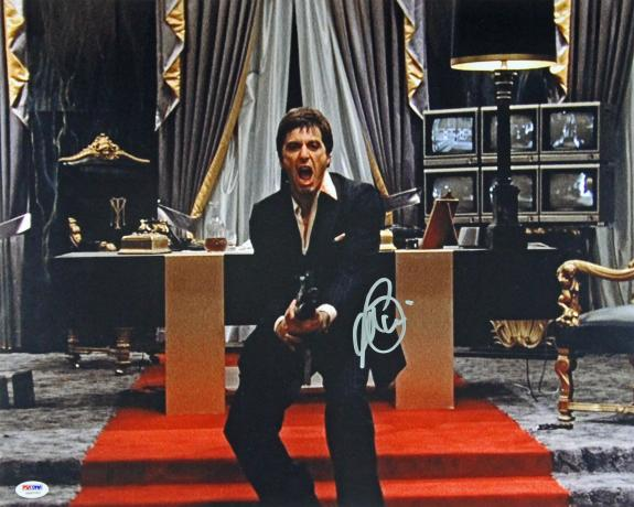 Al Pacino Scarface Signed 16X20 Photo Autographed PSA/DNA ITP #5A80083