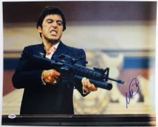 Al Pacino Scarface Signed 16X20 Photo Graded 10! PSA/DNA #4A98774