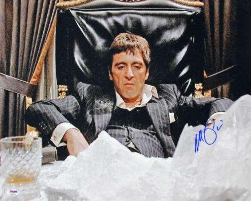 Al Pacino Scarface Signed 16x20 Photo Graded Gem 10! PSA/DNA #4A98762