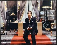 Al Pacino Scarface Signed 16X20 Photo Graded Perfect 10! PSA #4A98736