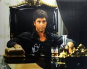 Al Pacino Scarface Signed 16X20 Photo Tony Montana PSA ITP #5A80074