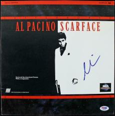 Al Pacino Scarface Signed Laserdisc Cover PSA/DNA #J00693