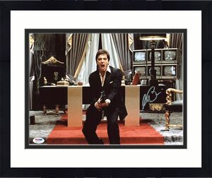 Al Pacino Scarface Signed Say Hello To My Little Friend 11X14 Photo PSA ITP 1