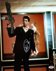 Al Pacino Scarface Signed Say Hello To My Little Friend 11X14 Photo PSA ITP 2