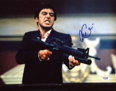 Al Pacino Scarface Signed Say Hello To My Little Friend 11X14 Photo PSA ITP 3