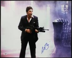 Al Pacino Scarface Signed Say Hello To My Little Friend 16X20 Photo PSA ITP 2
