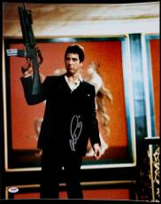 Al Pacino Scarface Signed Say Hello To My Little Friend 16X20 Photo PSA ITP 5