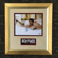 AL PACINO-Scarface signed/autographed photo custom framed display-BAS COA