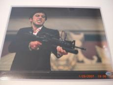 Al Pacino Scarface,scent Of A Woman Great Actor Td/hologram Signed 11x14 Photo