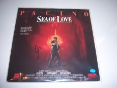 Al Pacino Sea Of Love,the Godfather Actor Td/holo Signed Laserdisc Album