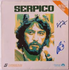 Al Pacino & Sidney Lumet Authentic Signed Serpico Laser Disc PSA/DNA #W05078
