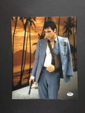 Al Pacino Signed 11x14 Photo Autograph Psa Dna Coa Scarface Proof