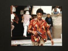 Al Pacino Signed 11x14 Photo Autograph Psa Dna Coa Scarface Proof