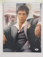 Al Pacino Signed 11x14 Photo Full Auto Godfather Scarface Psa/dna Itp 4a69092