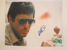 Al Pacino Signed 11x14 Photo Full Auto Godfather Scarface Psa/dna Itp 4a69393