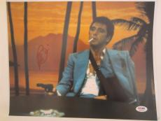 Al Pacino Signed 11x14 Photo Full Auto Godfather Scarface Psa/dna Itp 4a69426