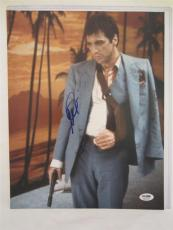 Al Pacino Signed 11x14 Photo Full Auto Godfather Scarface Psa/dna Itp 4a69436