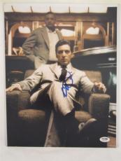 Al Pacino Signed 11x14 Photo Full Auto Godfather Scarface Psa/dna Itp 4a6981
