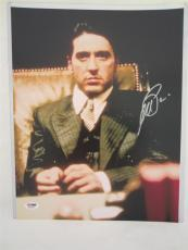 Al Pacino Signed 11x14 Photo Full Auto Godfather Scarface Psa/dna Itp 4a70091