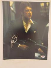 Al Pacino Signed 11x14 Photo Full Auto Godfather Scarface Psa/dna Itp 4a70127